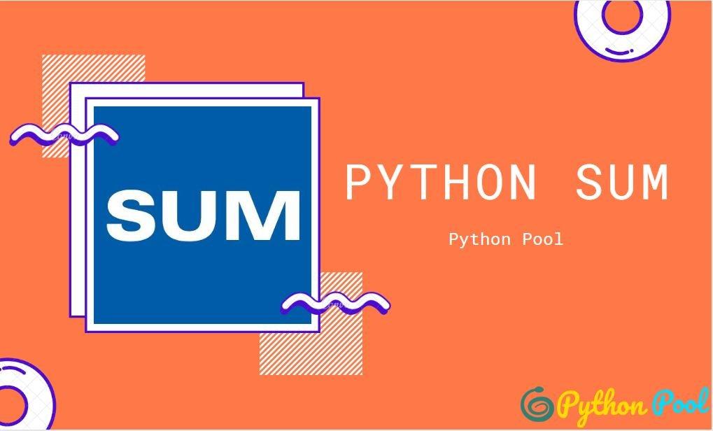 python sum