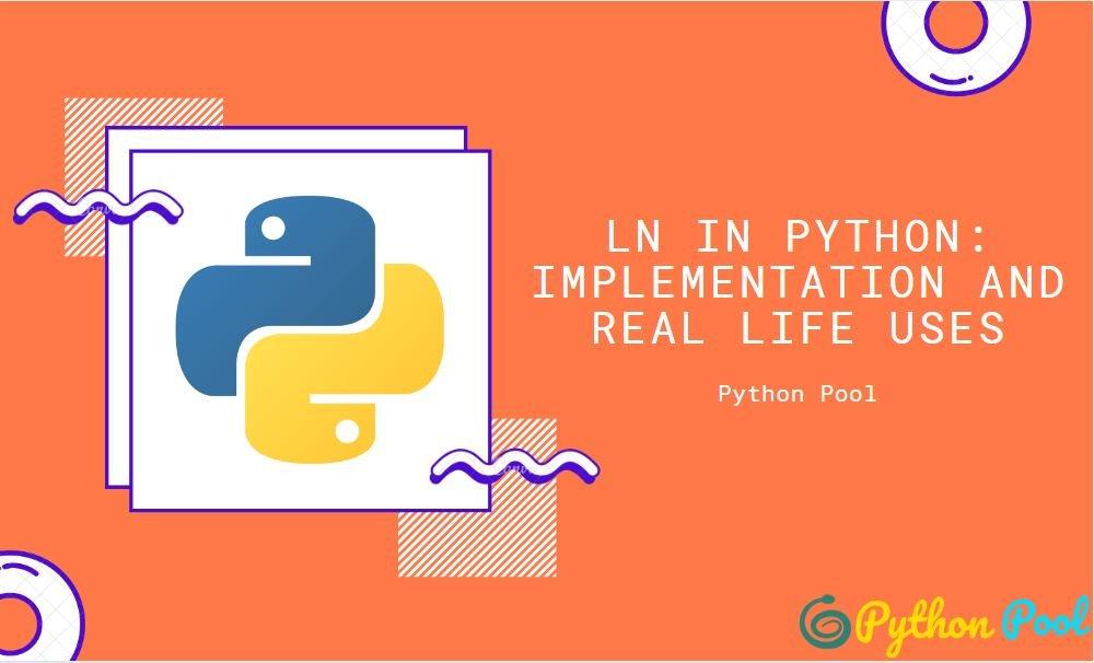 ln in python