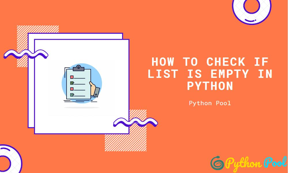 python check if list is empty
