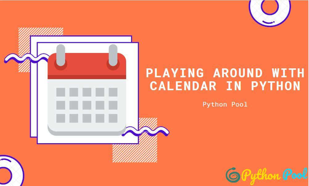 python calendar