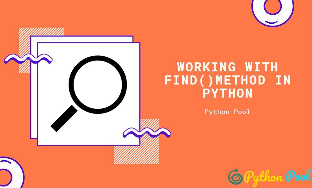 python find