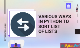 python sort list of lists
