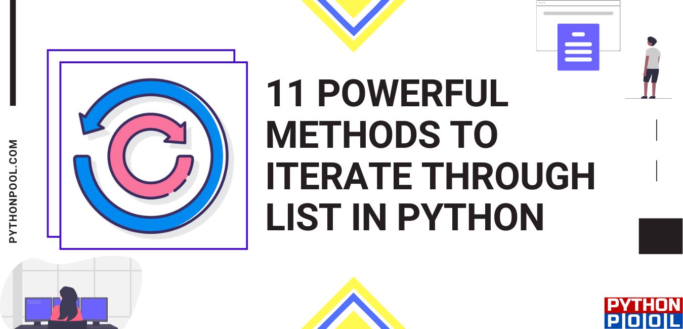 python iterate through list