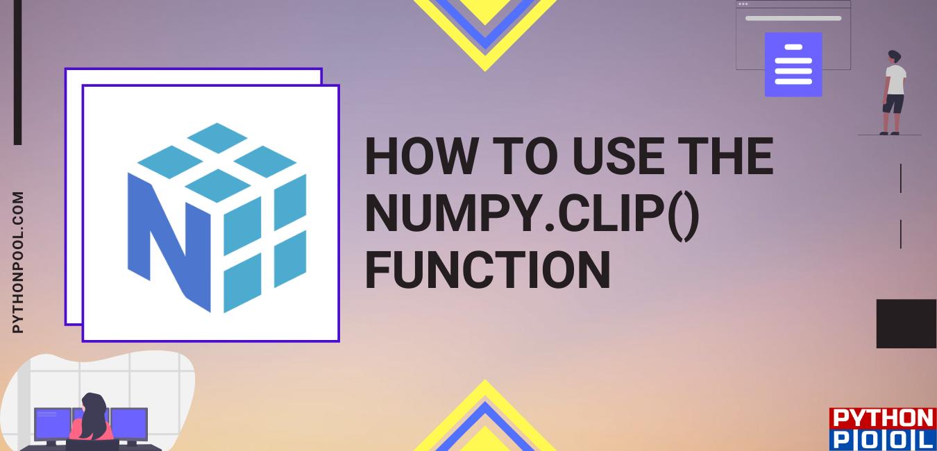 numpy clip