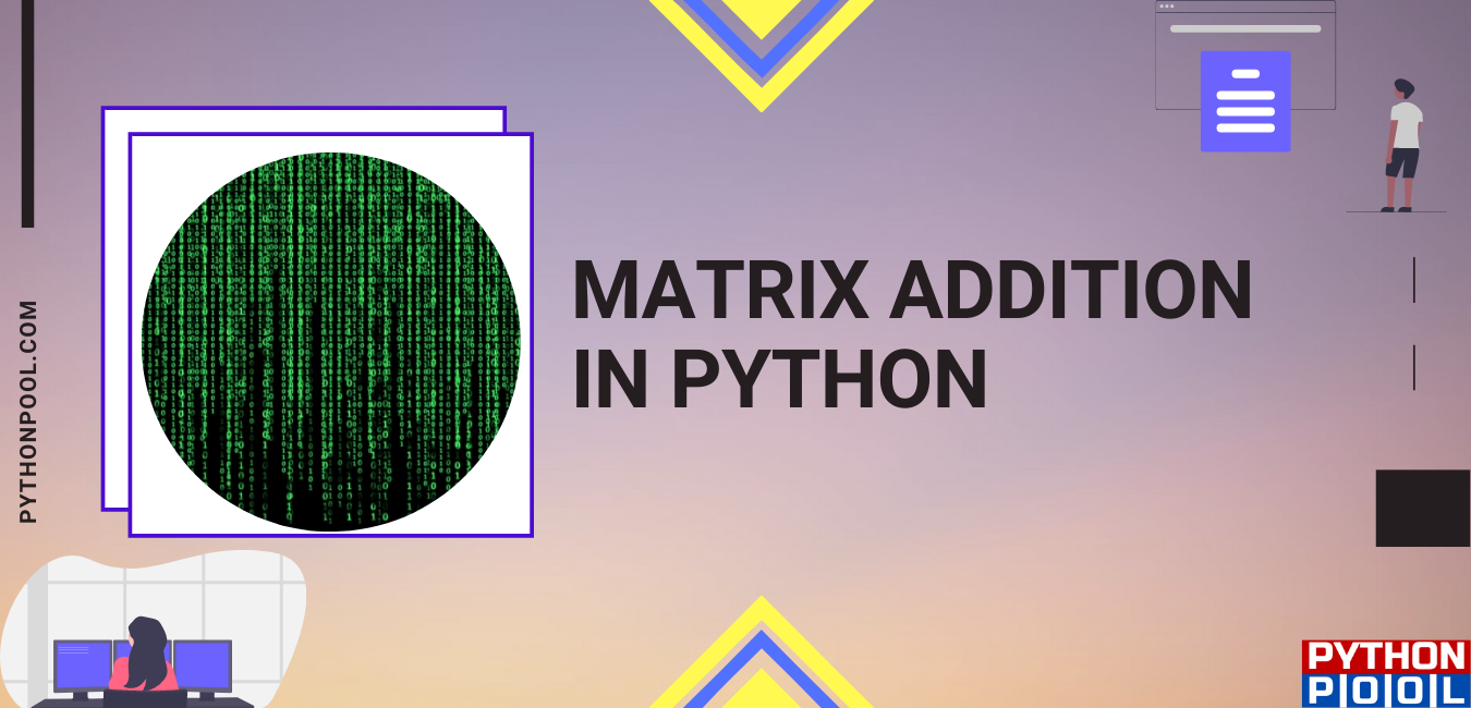 Matrix addition in python