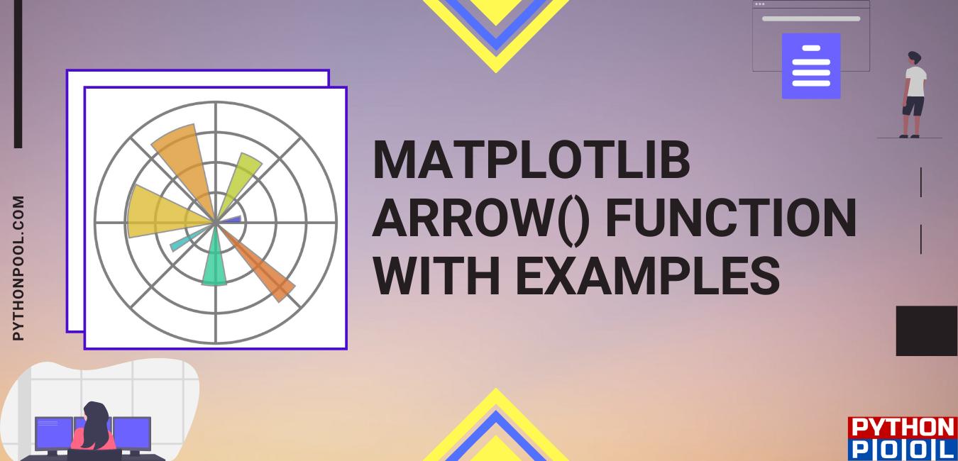 matplotlib arrow