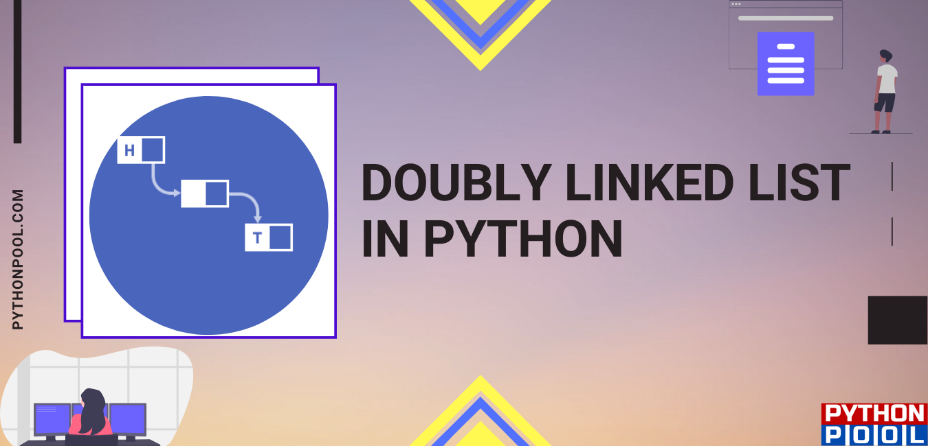 doubly linked list python