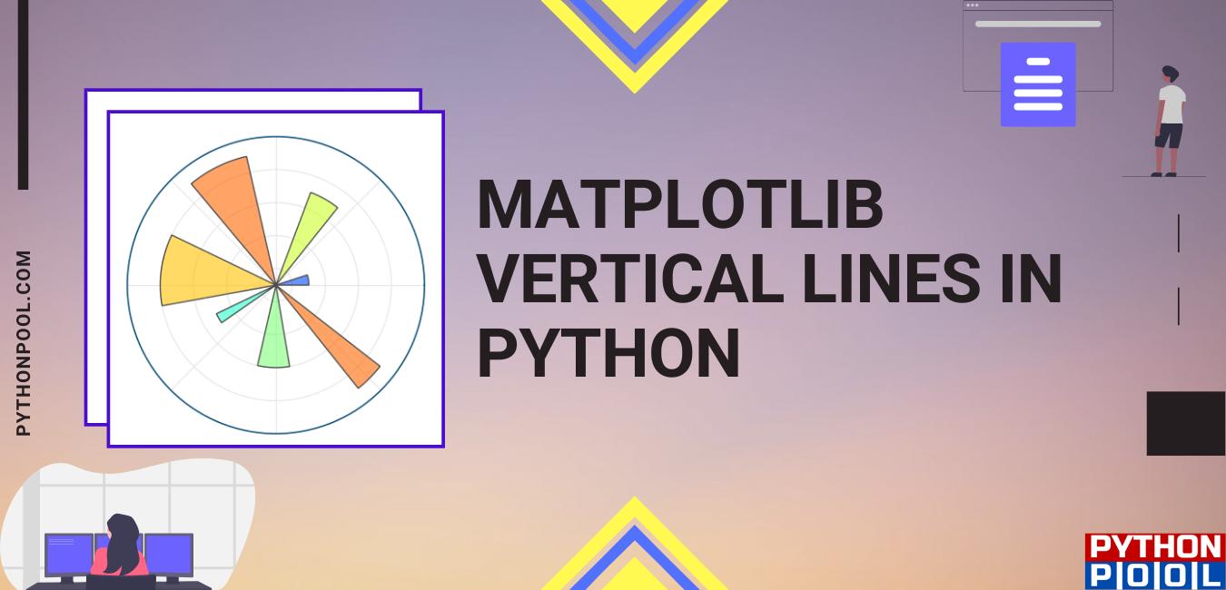 Matplotlib Vertical Lines
