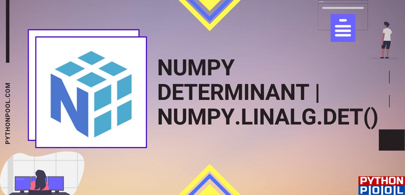 numpy determinant