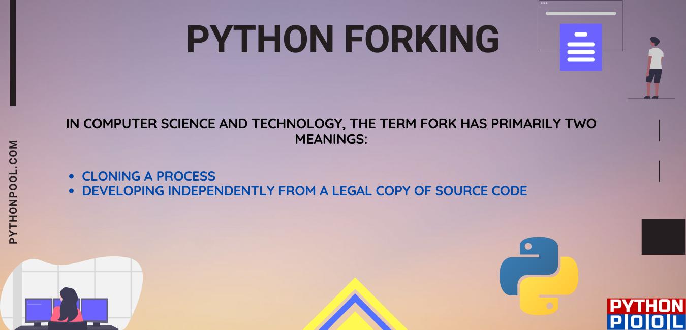 python forking