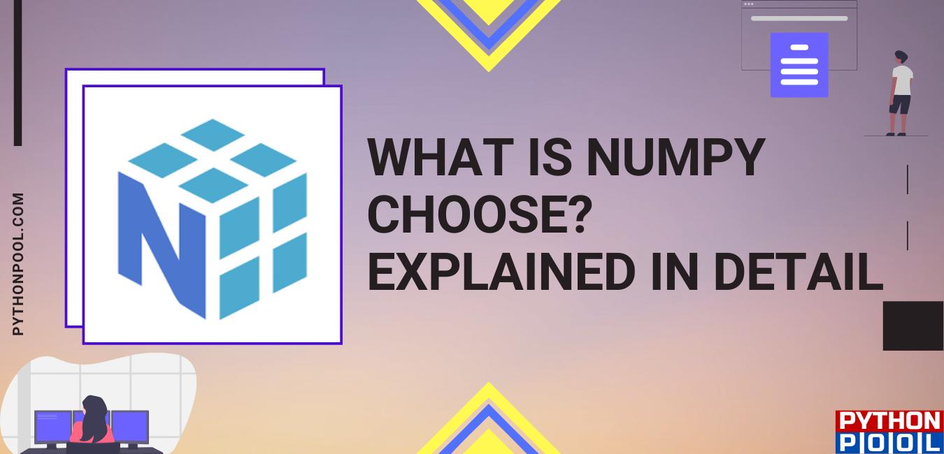 numpy choose
