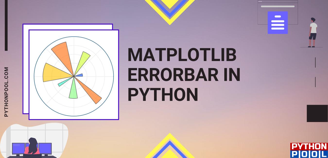 Matplotlib Errorbar in Python