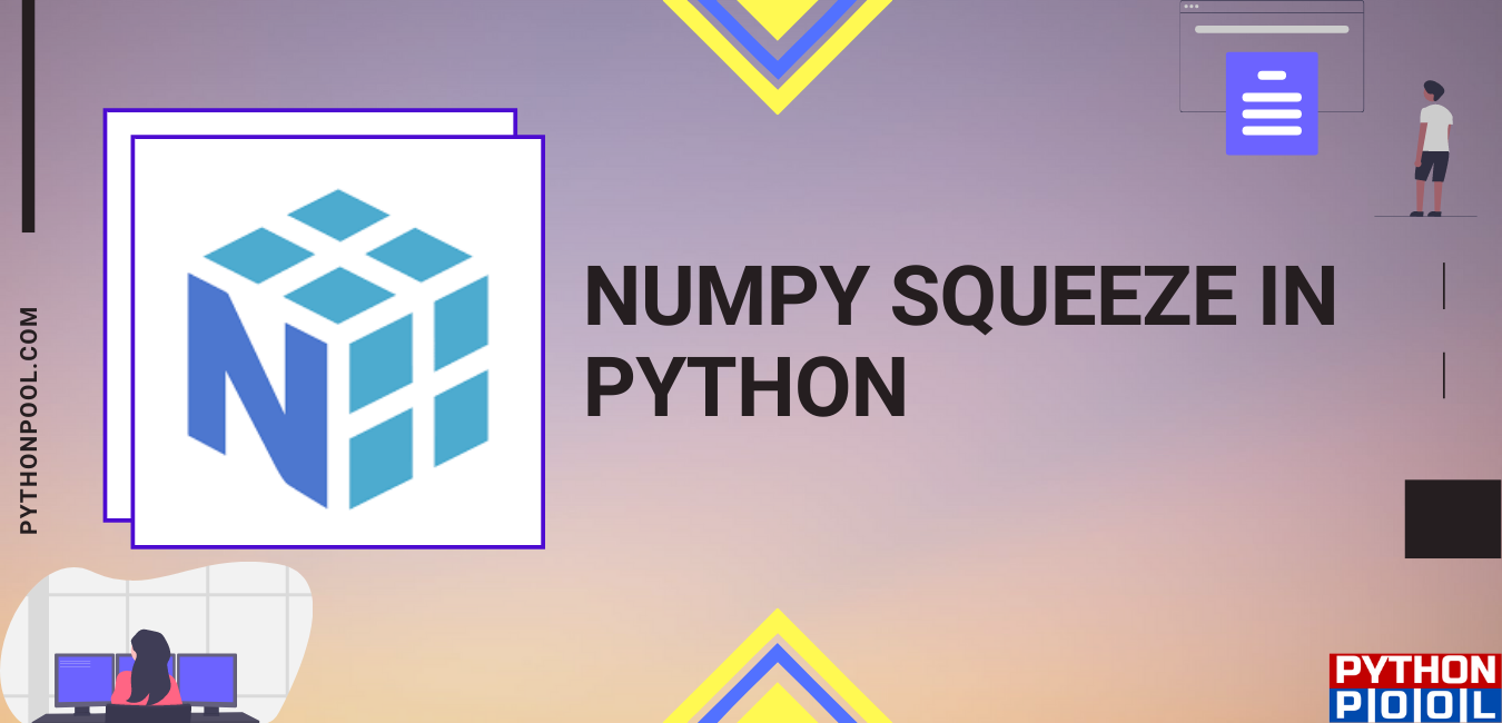numpy squeeze