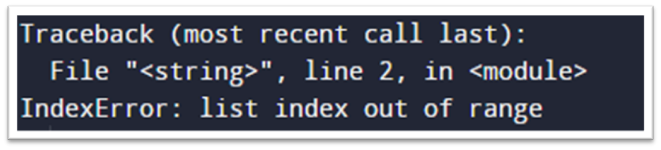 Python List Index Out Of Range With Len()