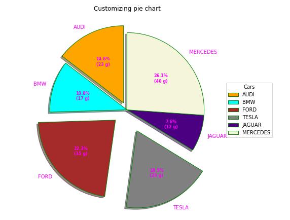 Custom Pie Chart