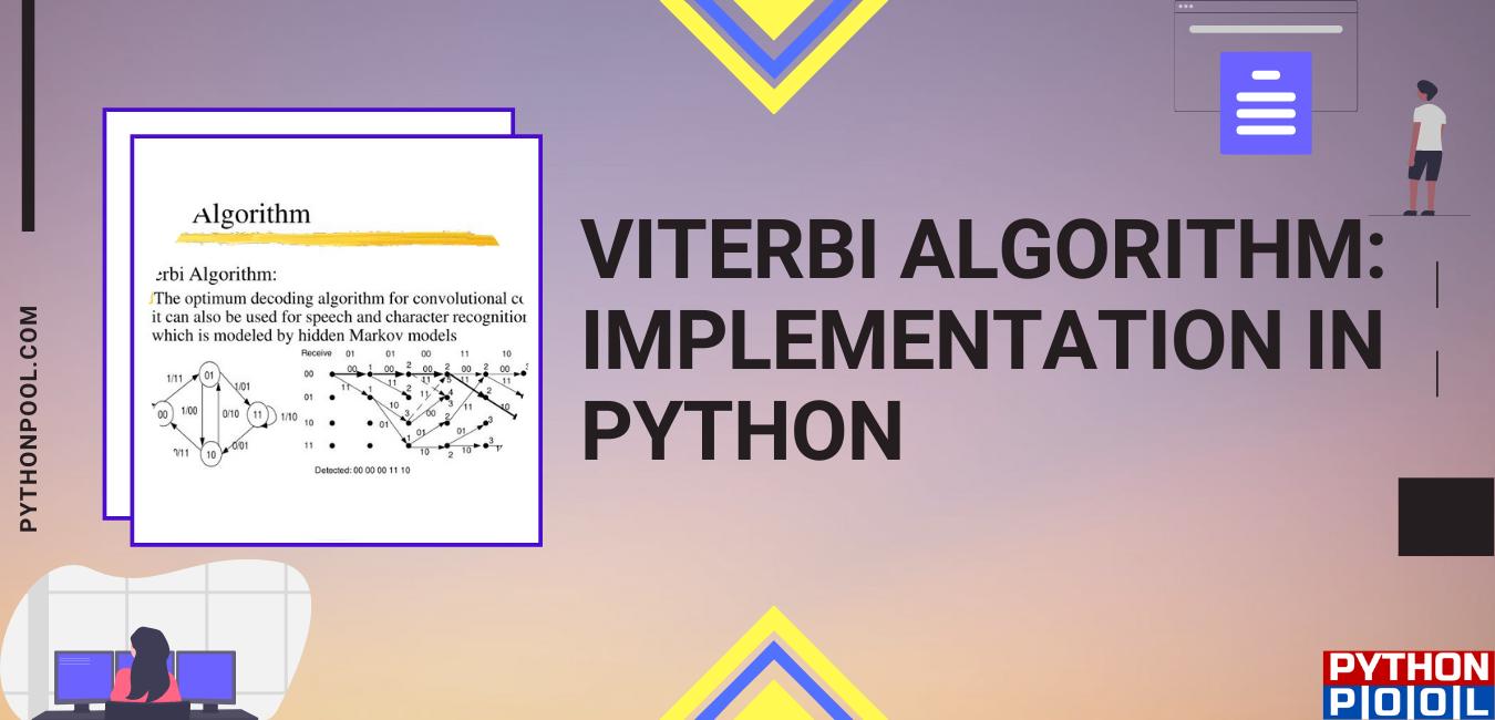 Viterbi Algorithm Python