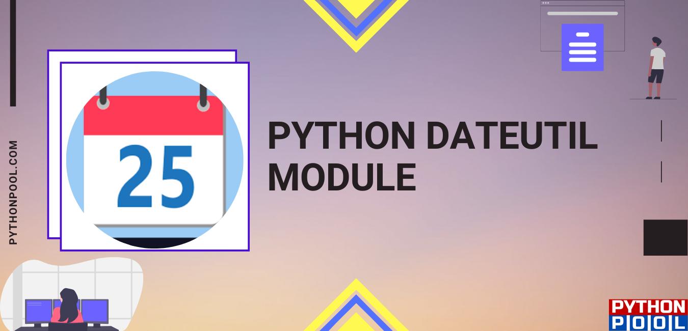 python dateutil module