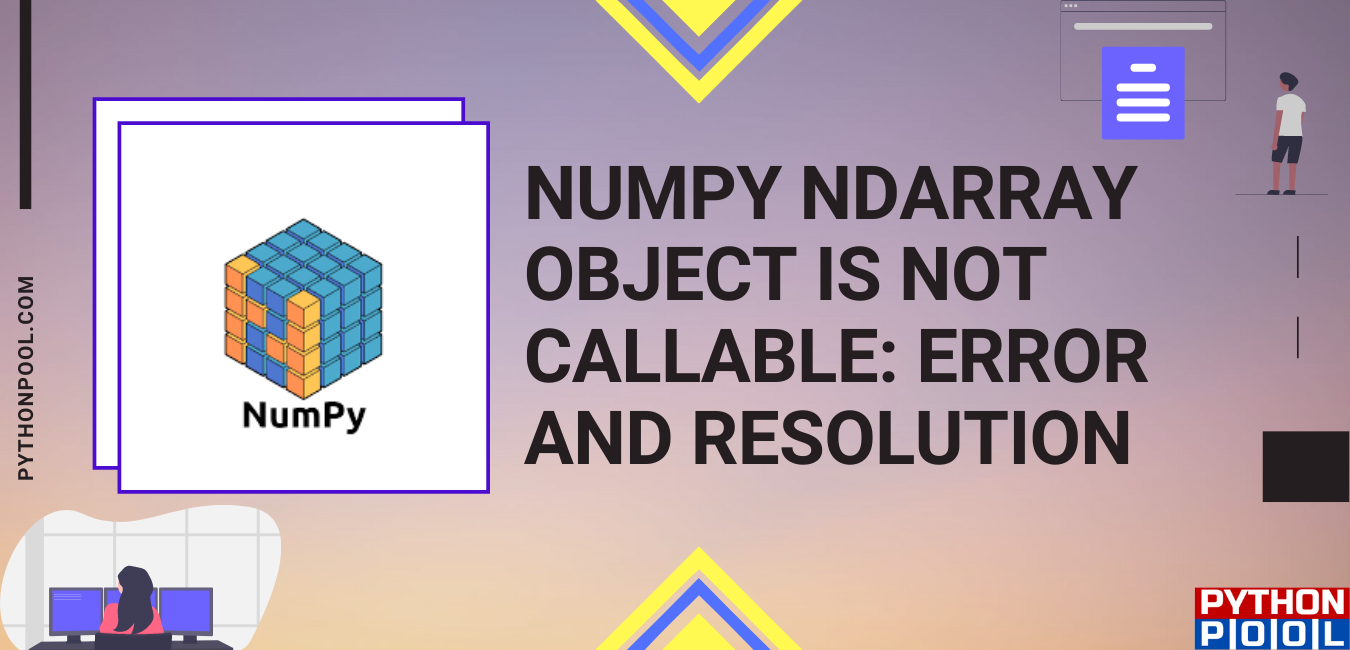 NumPy ndarray object is not callable