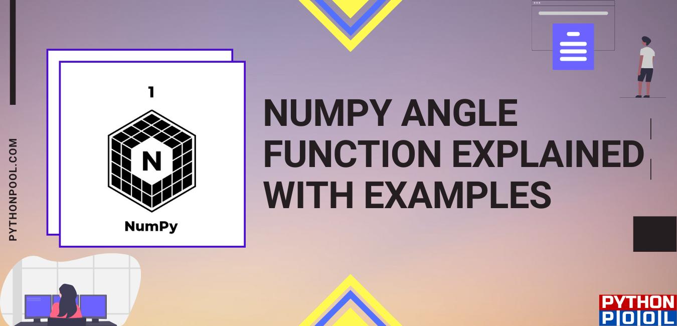 Numpy Angle