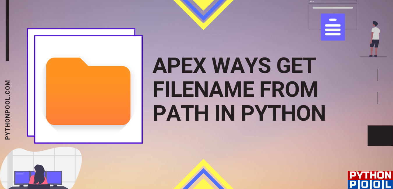 python get filename from path