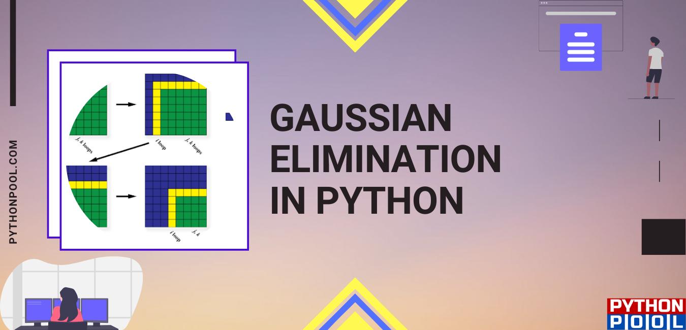 gaussian elimination python