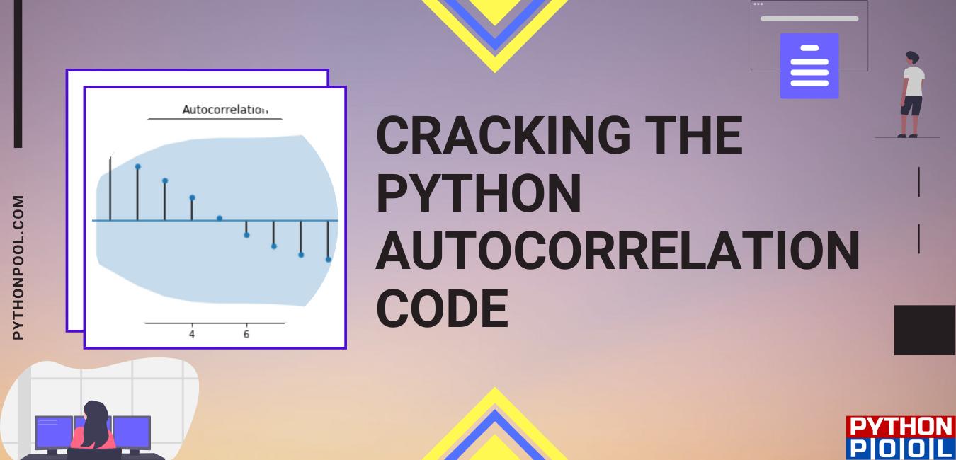 Python Autocorrelation