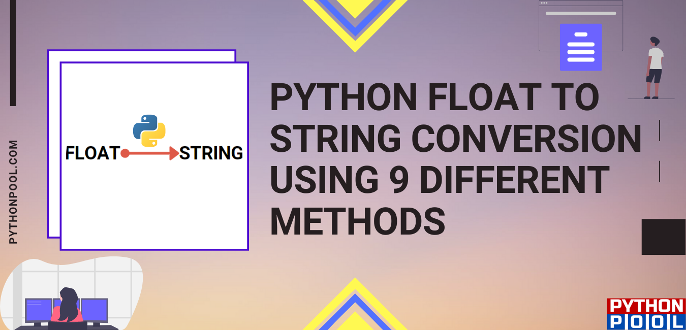 Python float to string