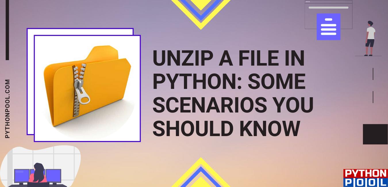 python unzip file