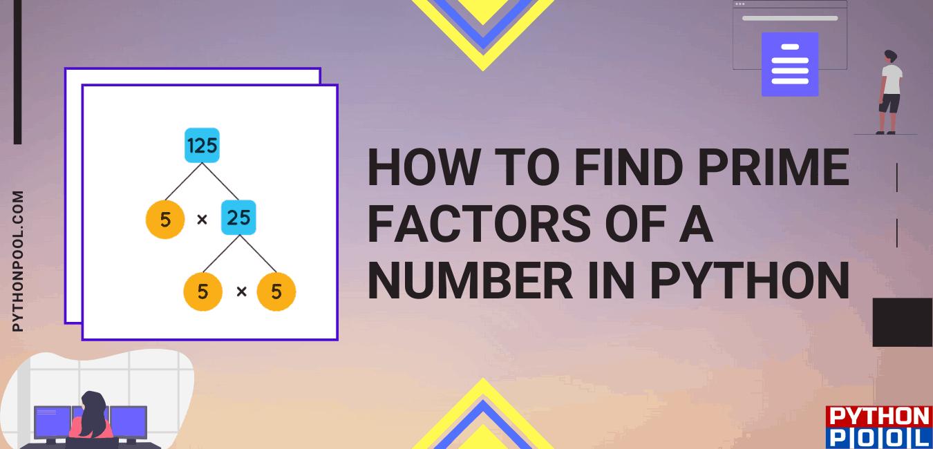 prime factorization python