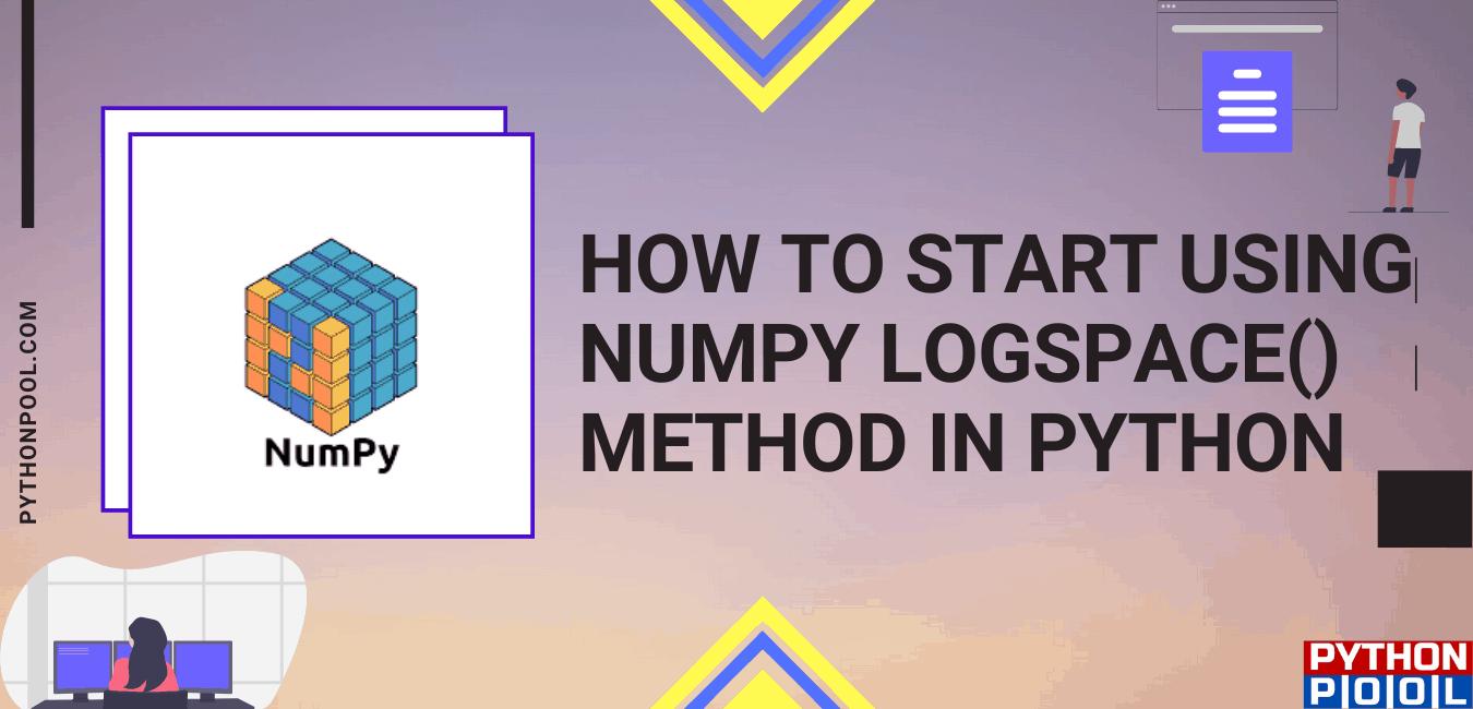 numpy logspace