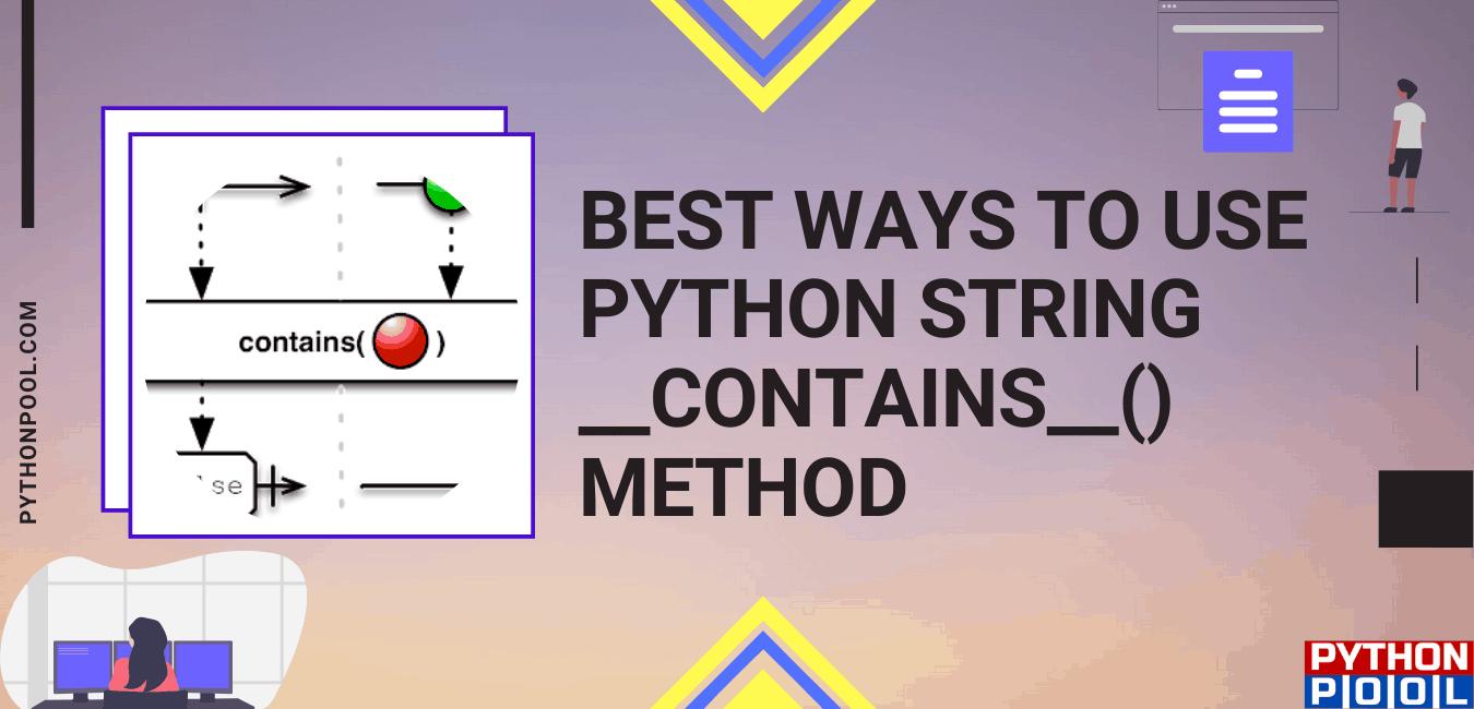 python string contains