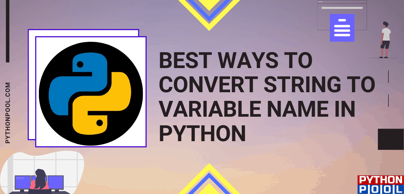 python string to variable name