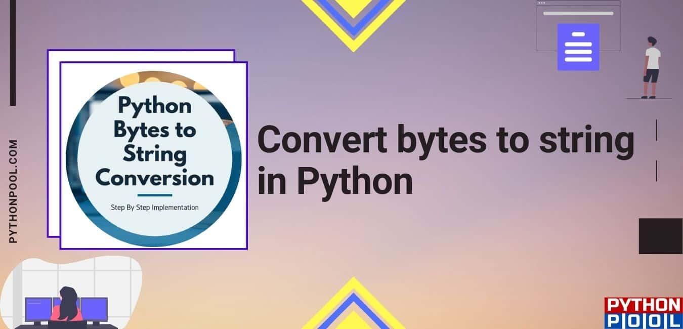 python bytes to string