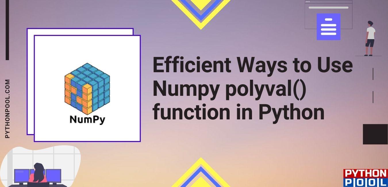 Numpy polyval