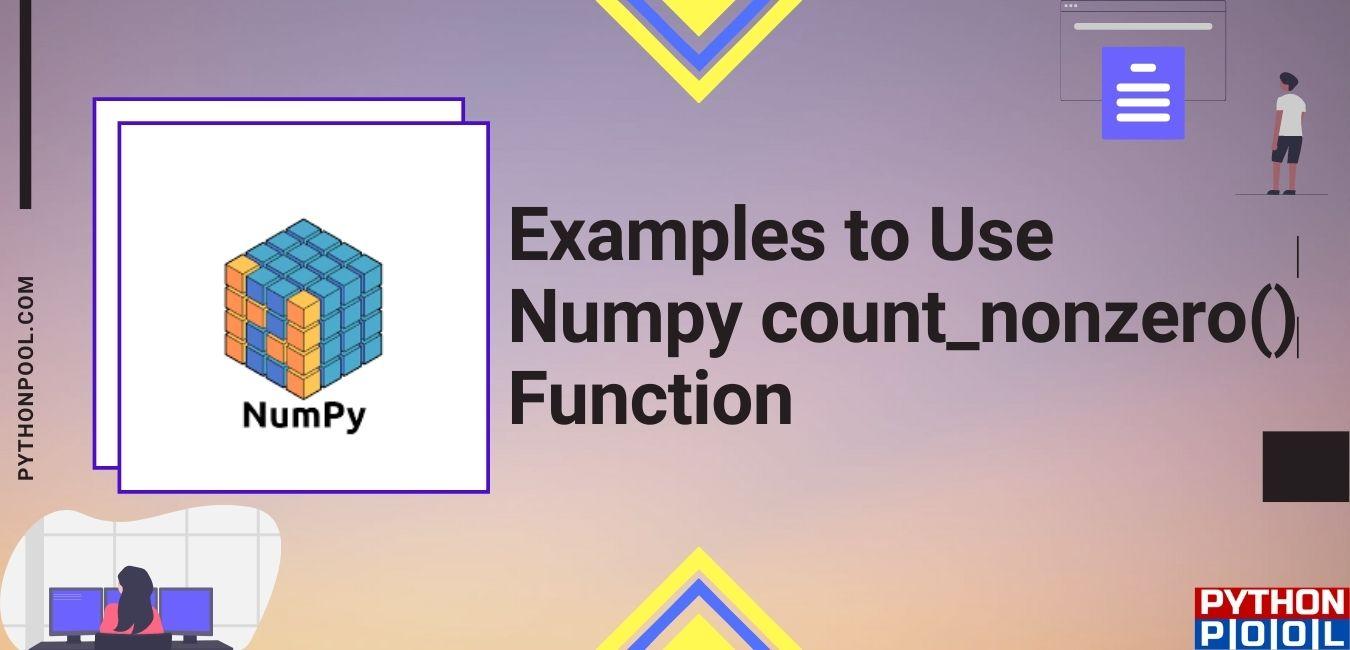 Numpy count_nonzero