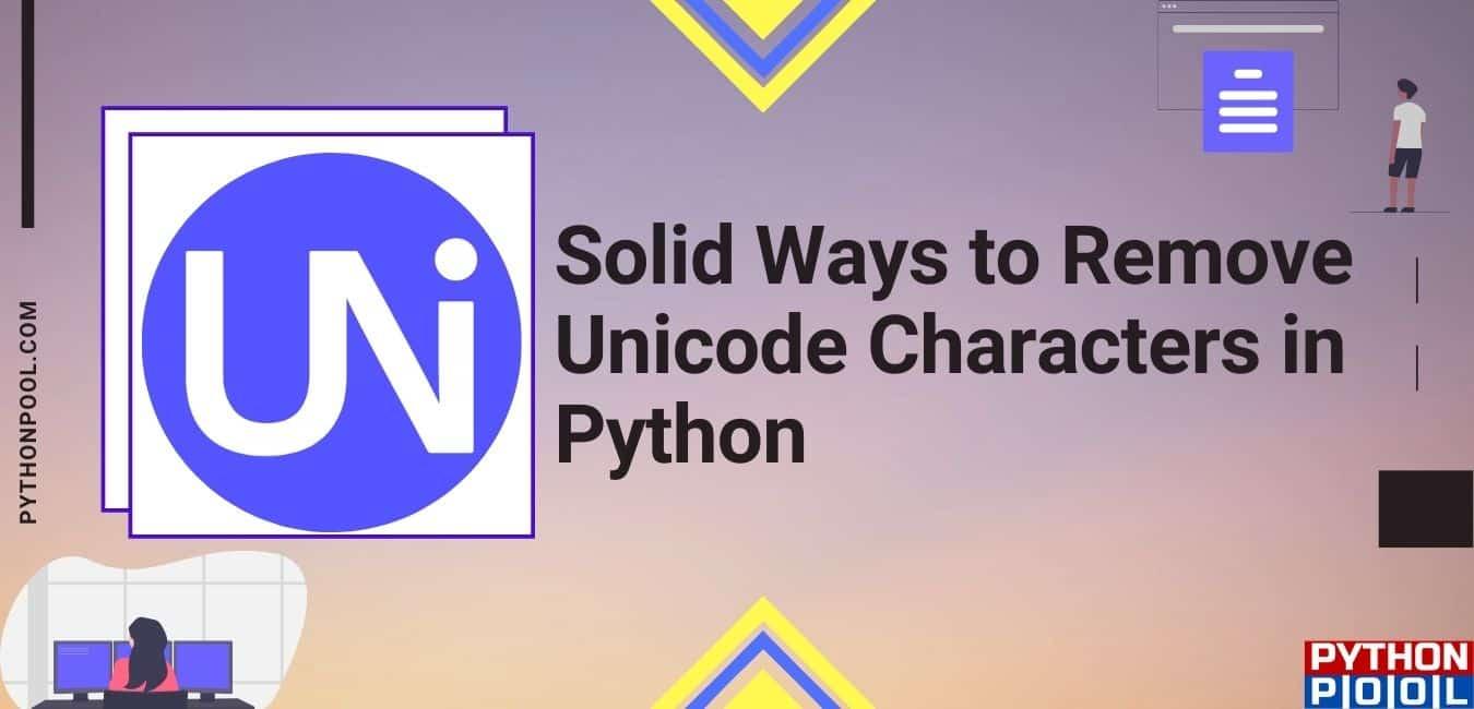 remove unicode characters python