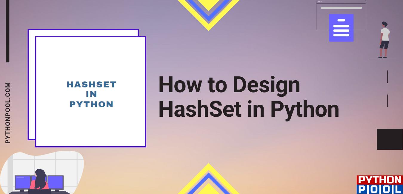 python hashset