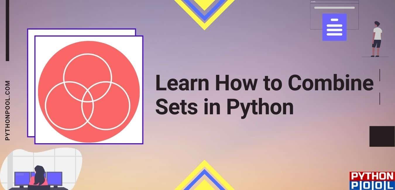 combine sets python