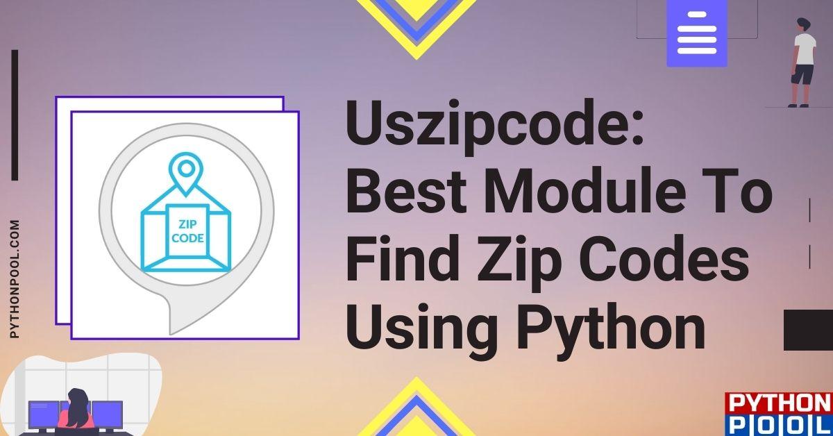 Uszipcode Python