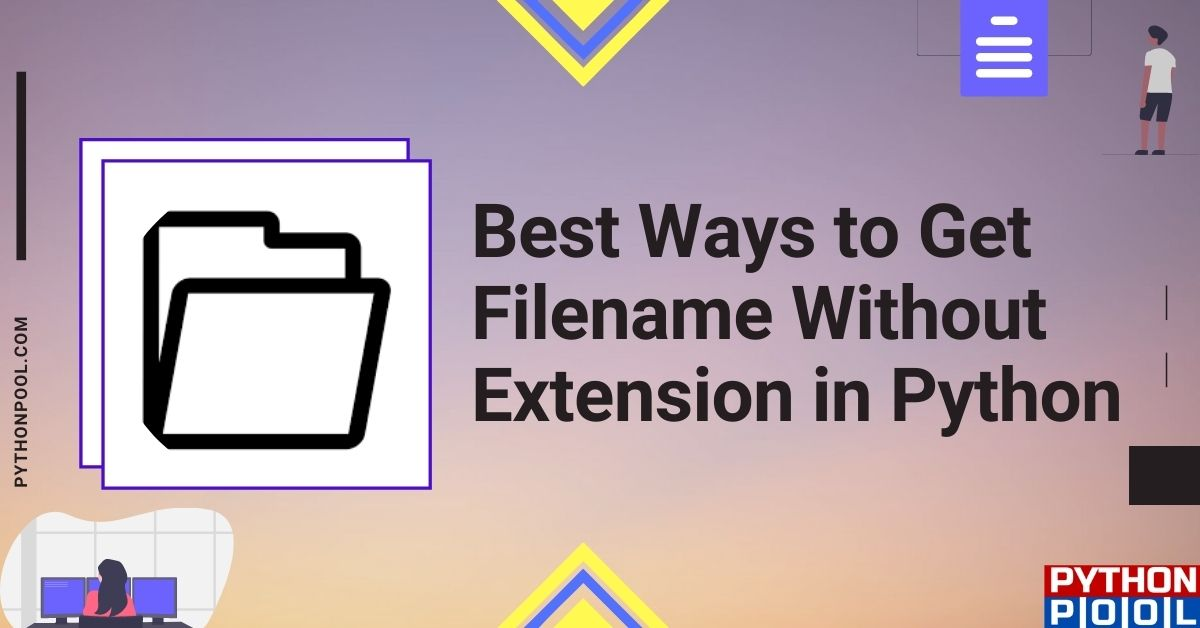 python get filename without extension