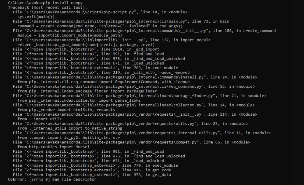 [Errno 9] Bad File Descriptor Occurred in Python